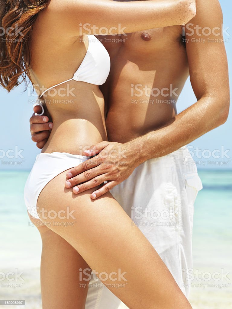 The tides of our love stock photo