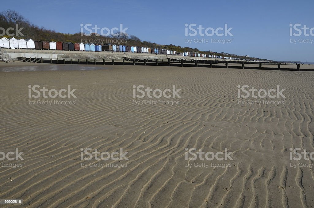 The tides out. stock photo