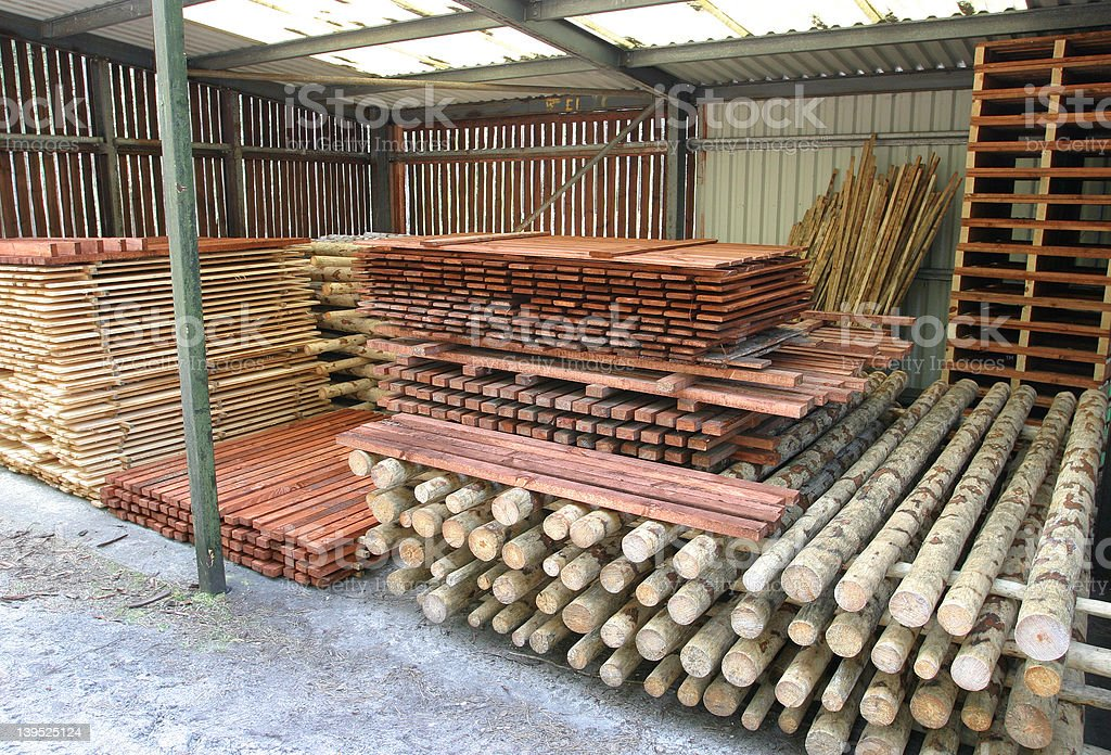 The Timber Yard royalty-free stock photo