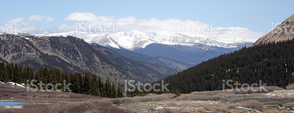 The Timberline 1 royalty-free stock photo