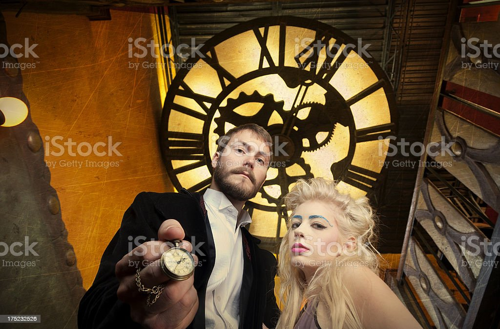 The Time is Now royalty-free stock photo