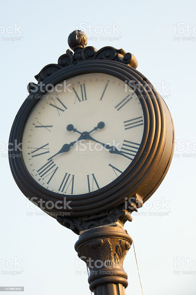 The time royalty-free stock photo