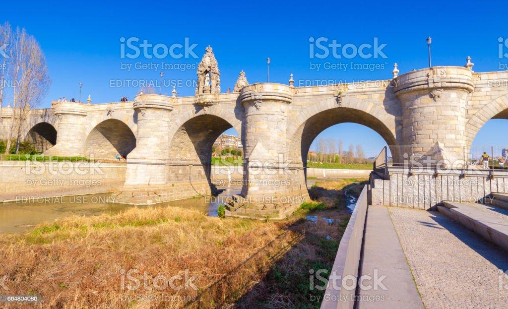 The Toledo Bridge stock photo