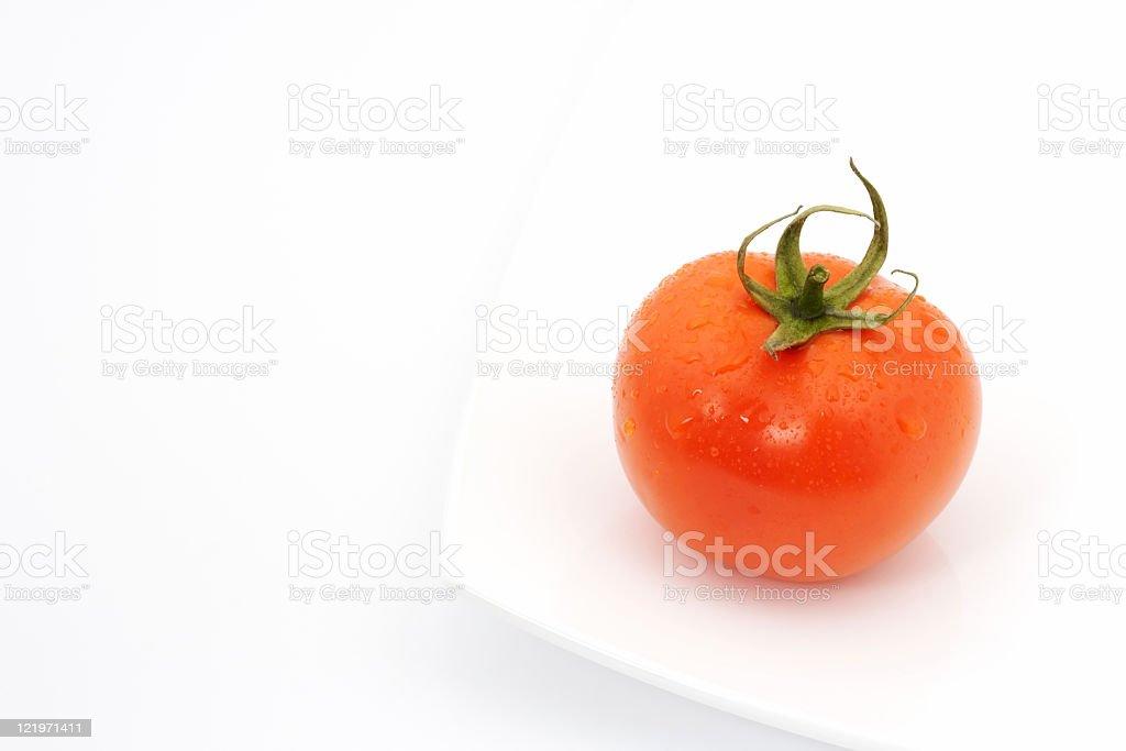 The tomato stock photo