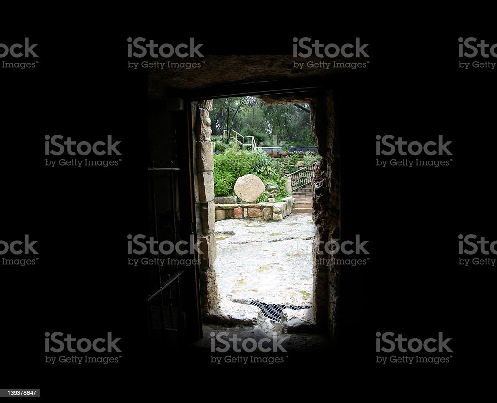 The Tomb of Christ royalty-free stock photo
