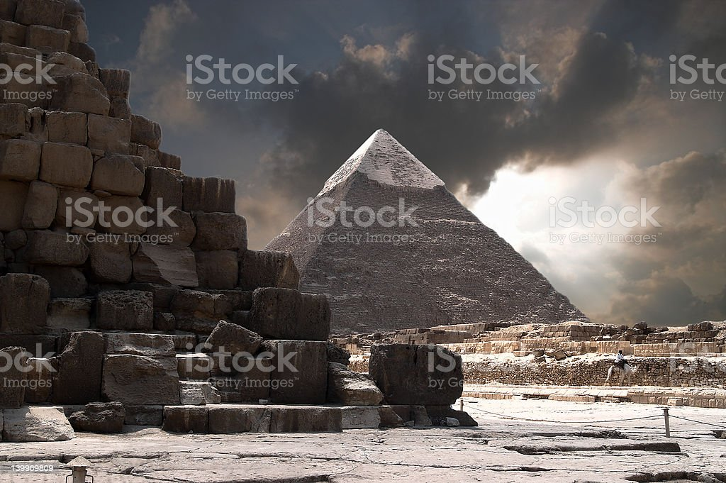 The Tomb of Giza royalty-free stock photo