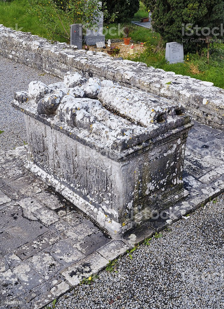 The Tomb of  Jealous Man and Woman royalty-free stock photo