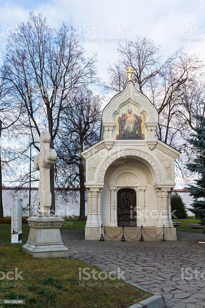 The tomb of Prince Pozharsky at Spaso Efimievskom monastery in stock photo