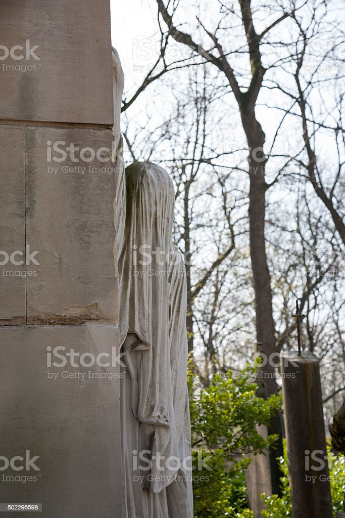 The tomb of Raspail stock photo