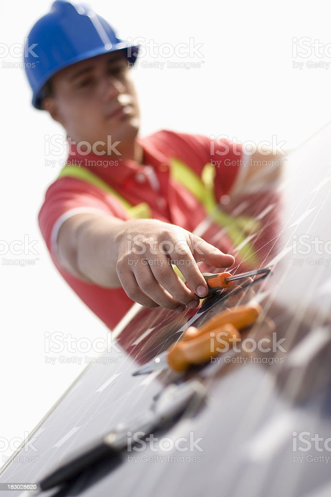 The tools needed royalty-free stock photo