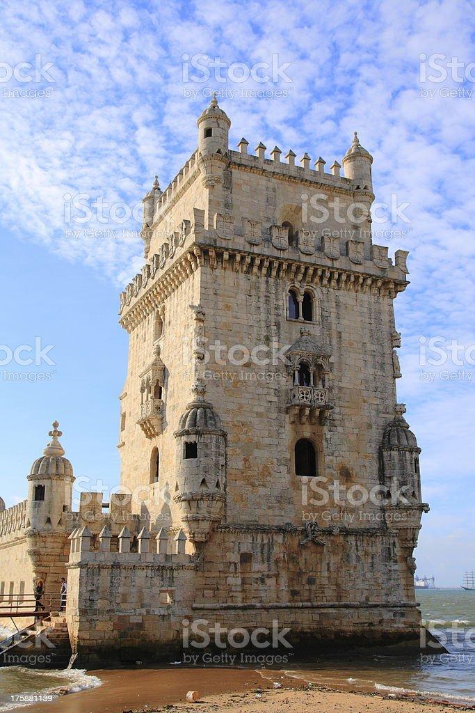 The Torre de Belem stock photo