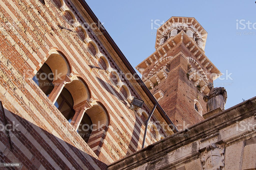 The Tower of Laberti stock photo