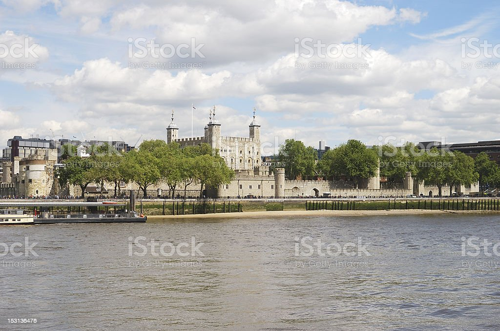 The Tower of London. England stock photo