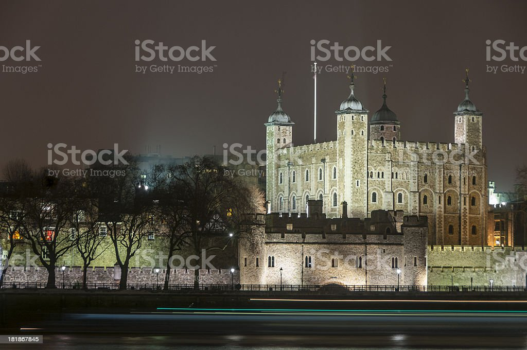 The Tower Of London royalty-free stock photo