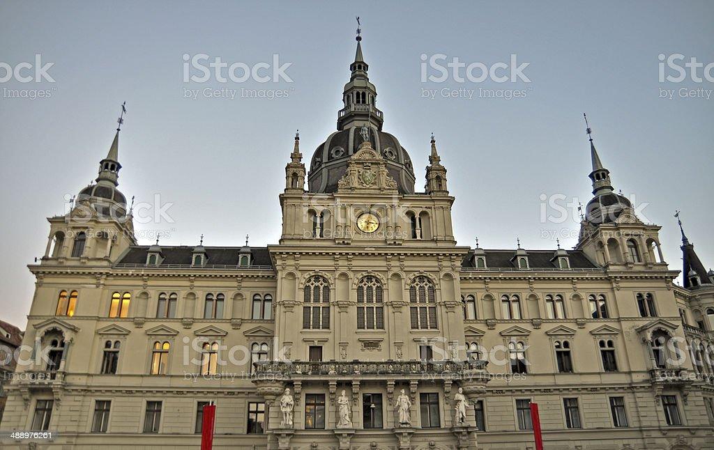 The Town hall of Graz, Styria, Austria, Europe stock photo