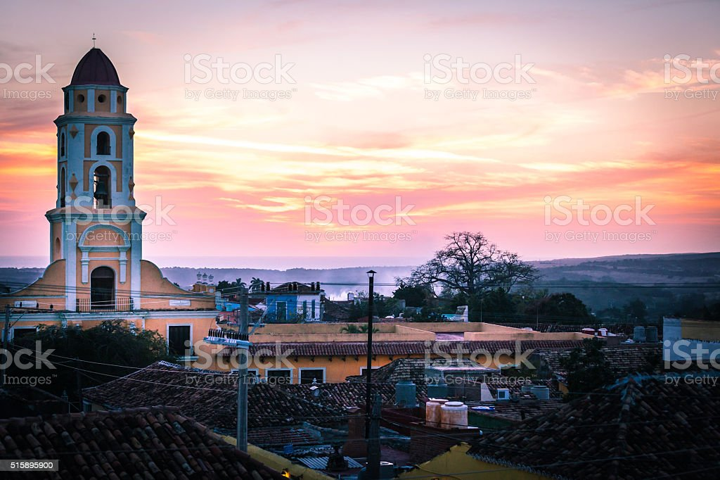 The Town of Trinidad, Cuba stock photo