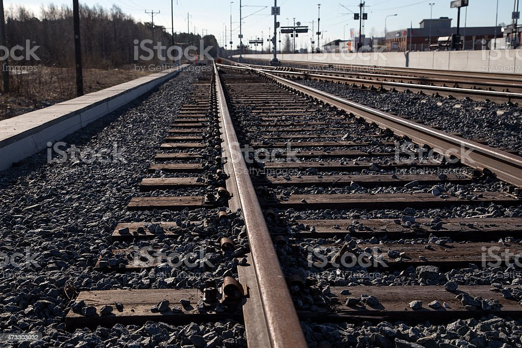 The track royalty-free stock photo