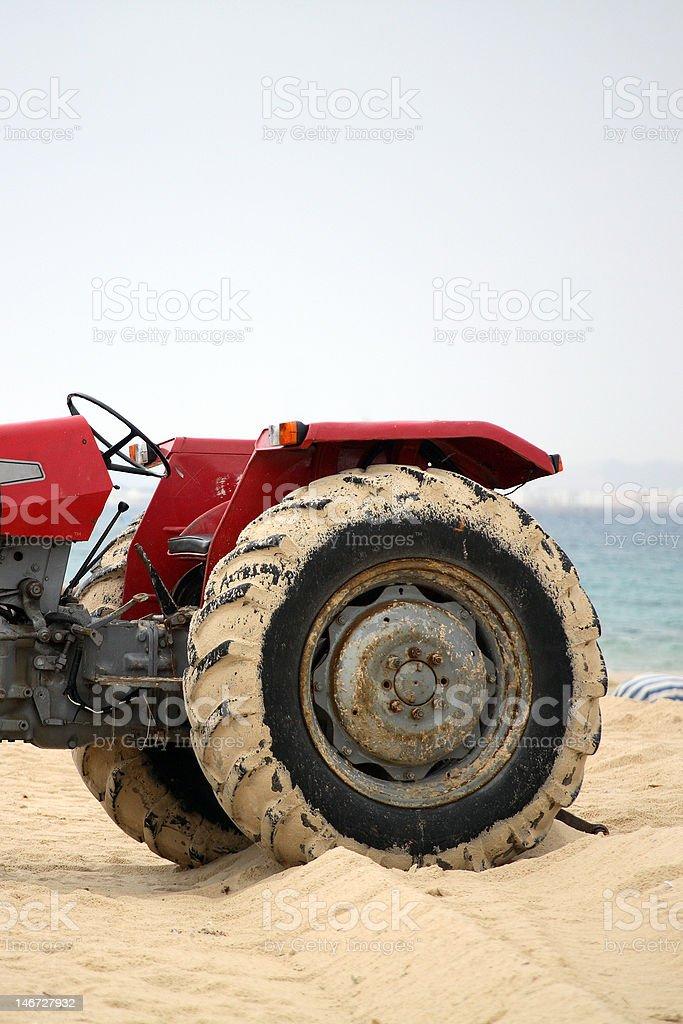 Le tracteur s cabin photo libre de droits