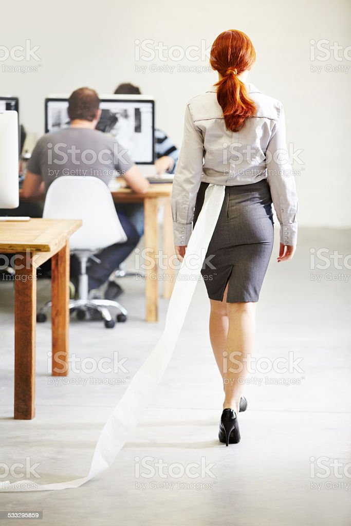 The trail of evidence.... stock photo