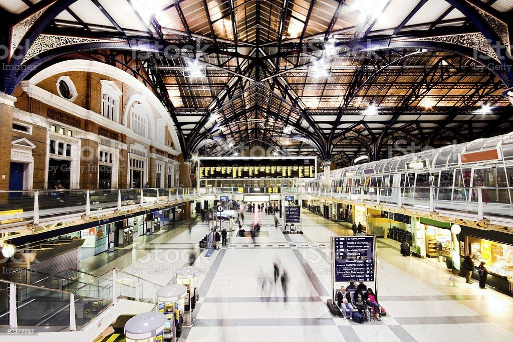 Liverpool Street Station zbiór zdjęć royalty-free