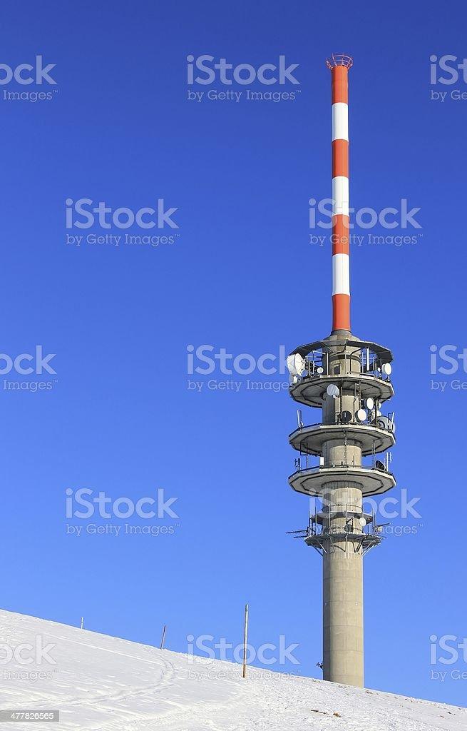 The Transmitter. stock photo