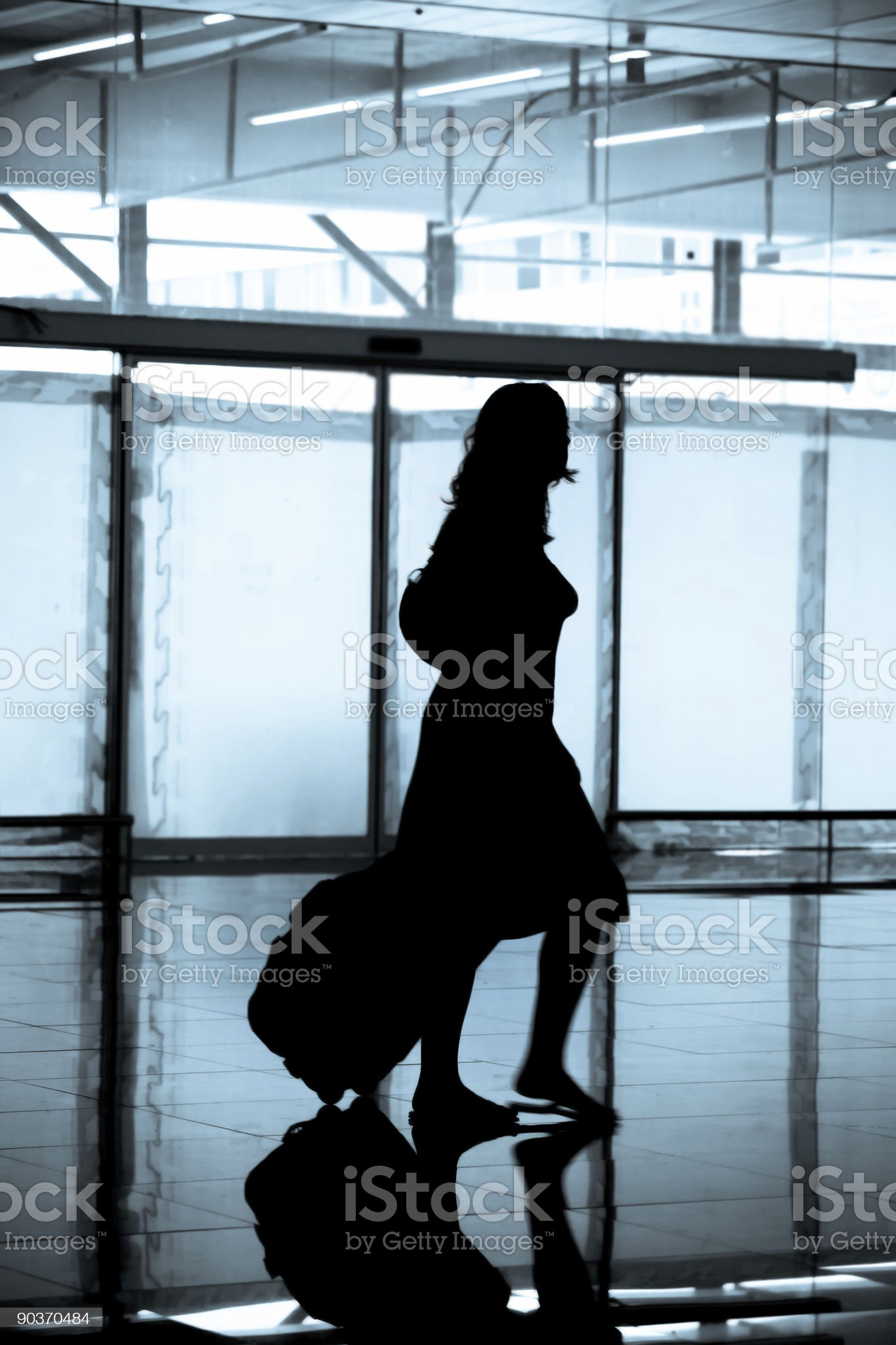 The Traveler royalty-free stock photo
