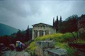 The treasure house in ancient Delphi