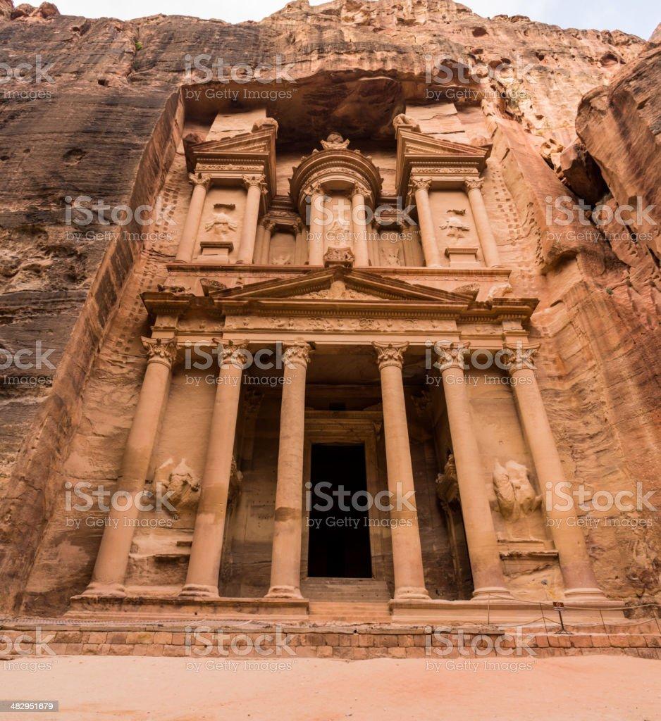 The Treasury (Kasneh) - Petra, Jordan stock photo