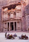 The Treasury. Petra. Jordan