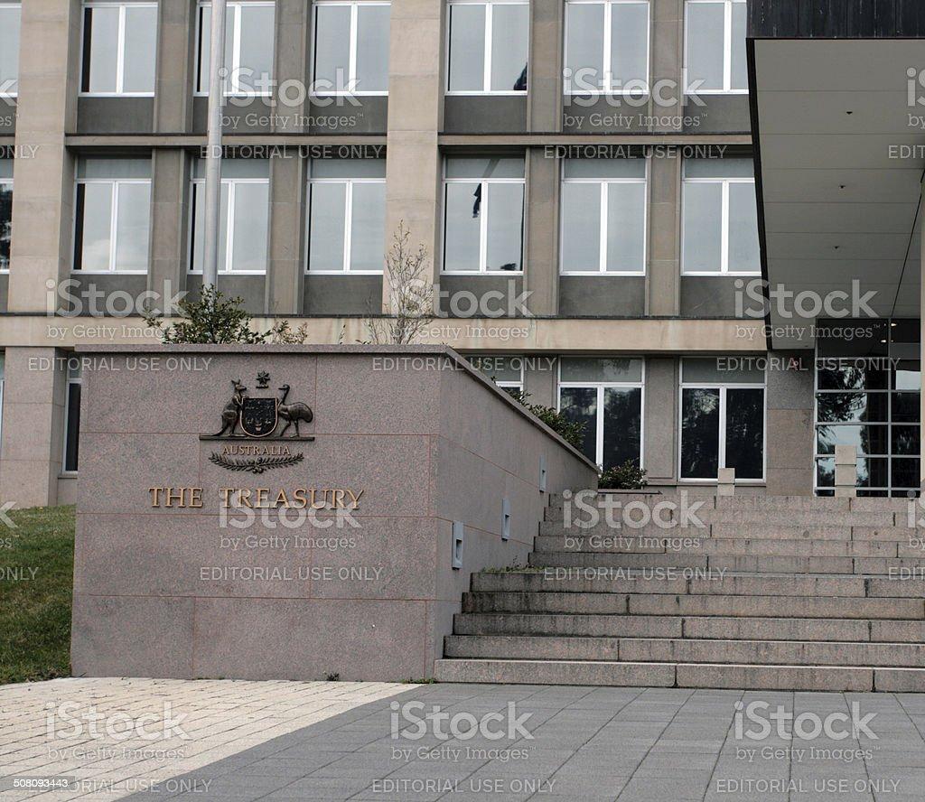The Treasury stock photo
