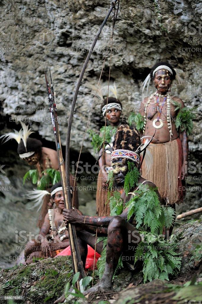 The tribe of Yafi stock photo