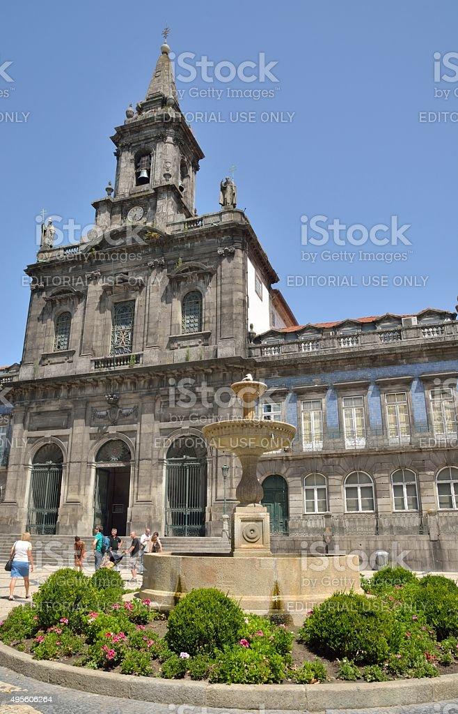 The Trinity church stock photo