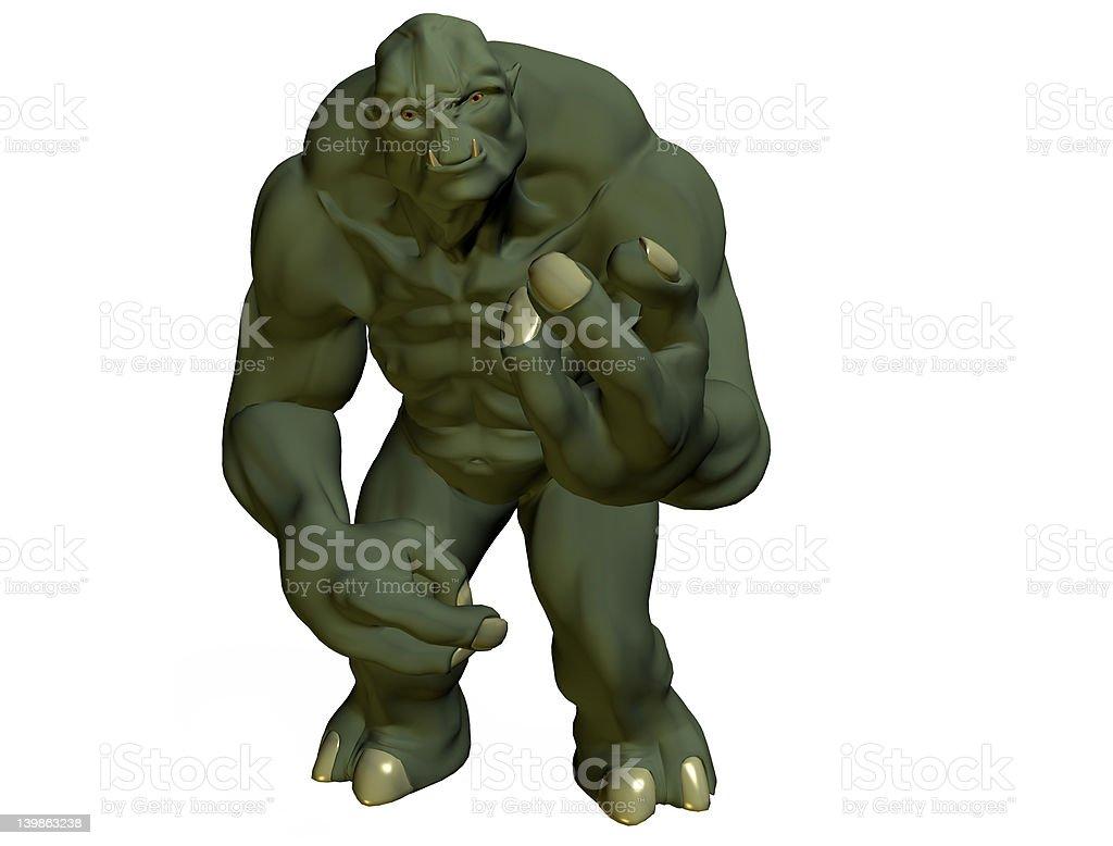 the troll stock photo