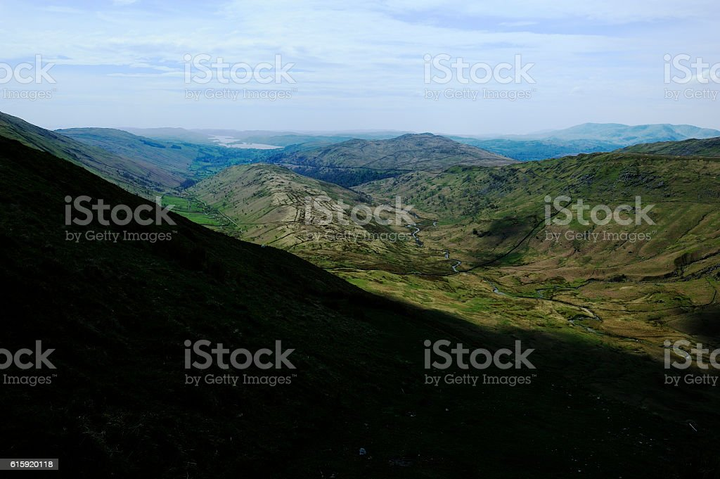 The Trout Beck Valley stock photo