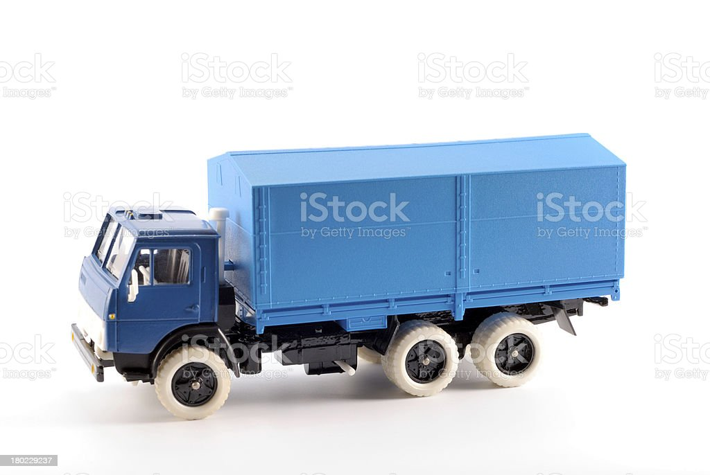 The truck royalty-free stock photo