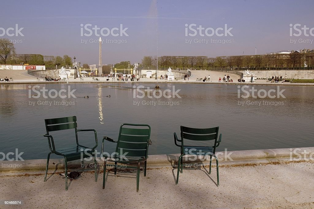 The Tuileries, Paris, France. royalty-free stock photo