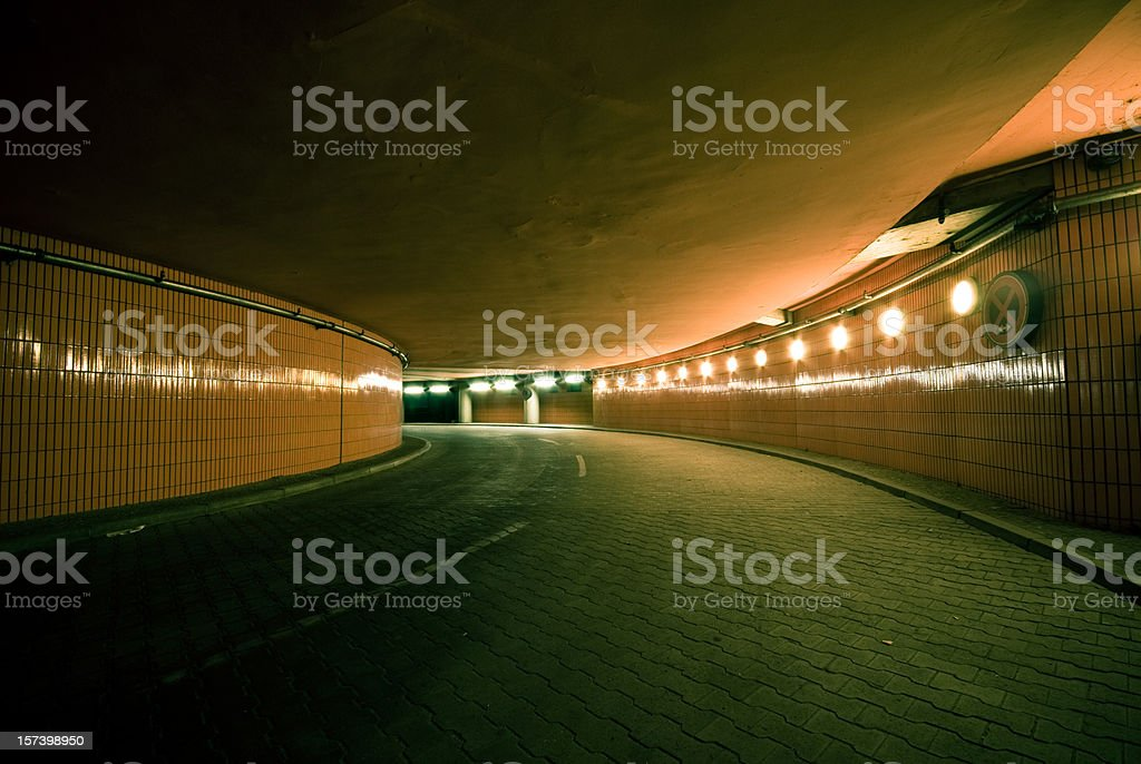 The tunnel royalty-free stock photo