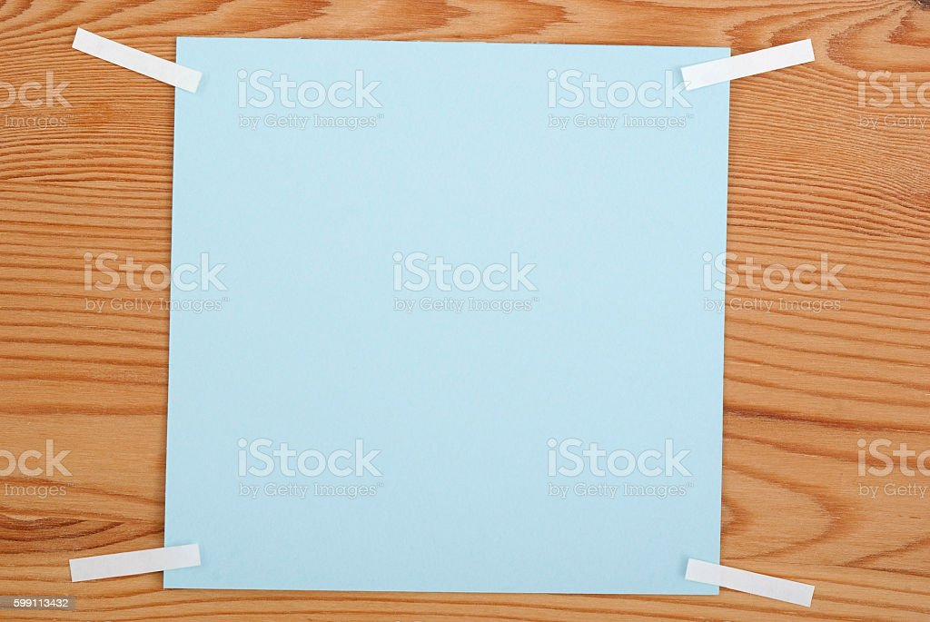 The turquoise square blank sheet royalty-free stock photo