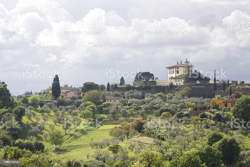 The Tuscan Hills, Italy, Europe royalty-free stock photo