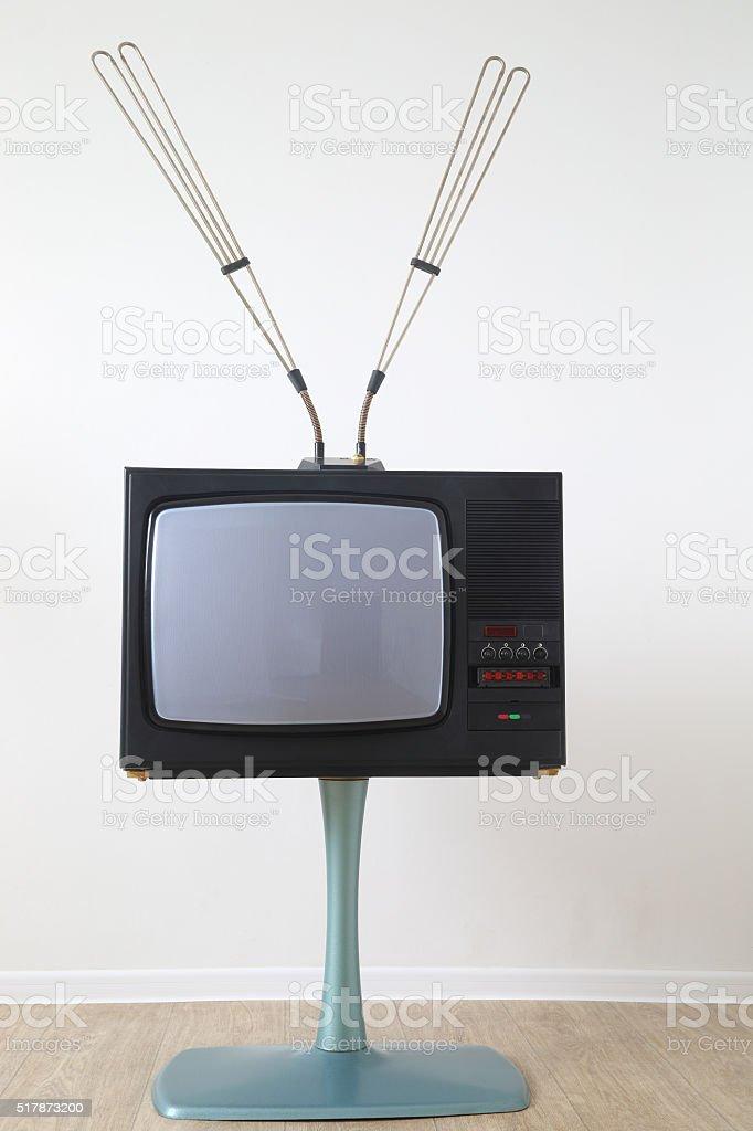 The TV. stock photo