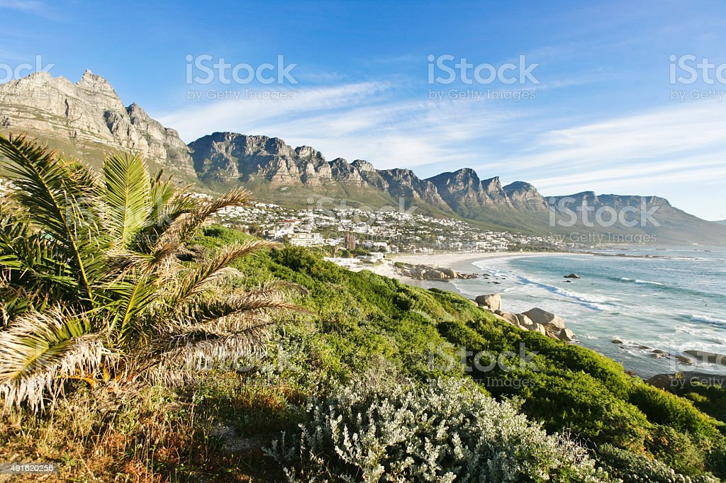 The 'Twelve Apostels' in Cape Town. stock photo