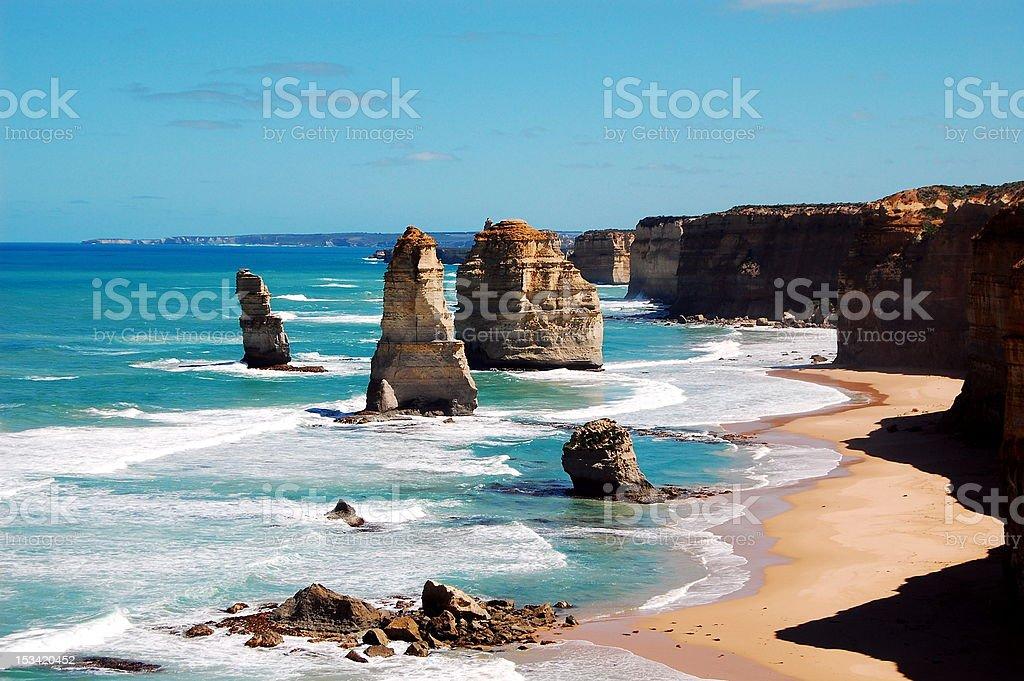 The Twelve Apostles, Victoria, Australia stock photo