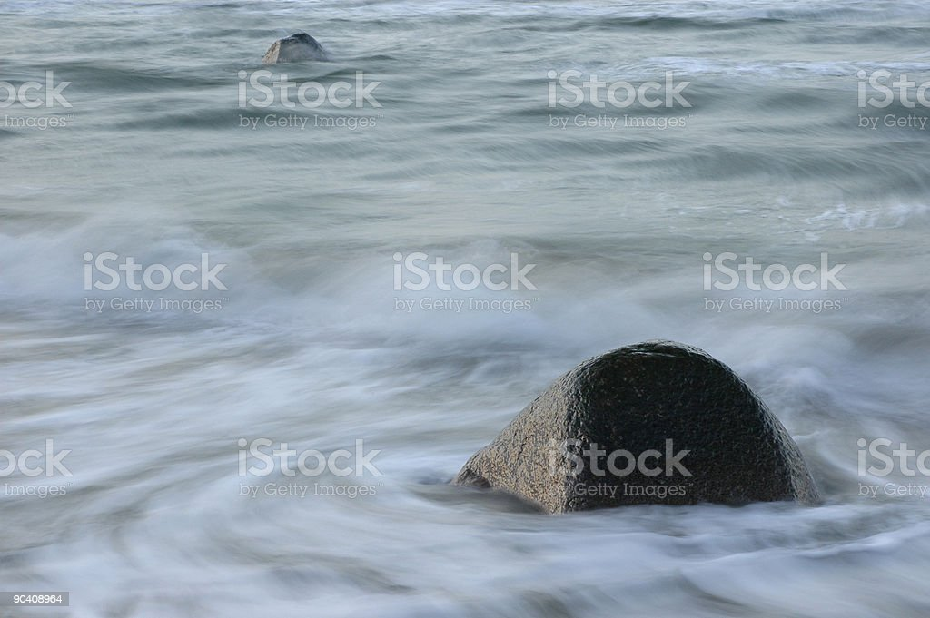 The two rocks royalty-free stock photo
