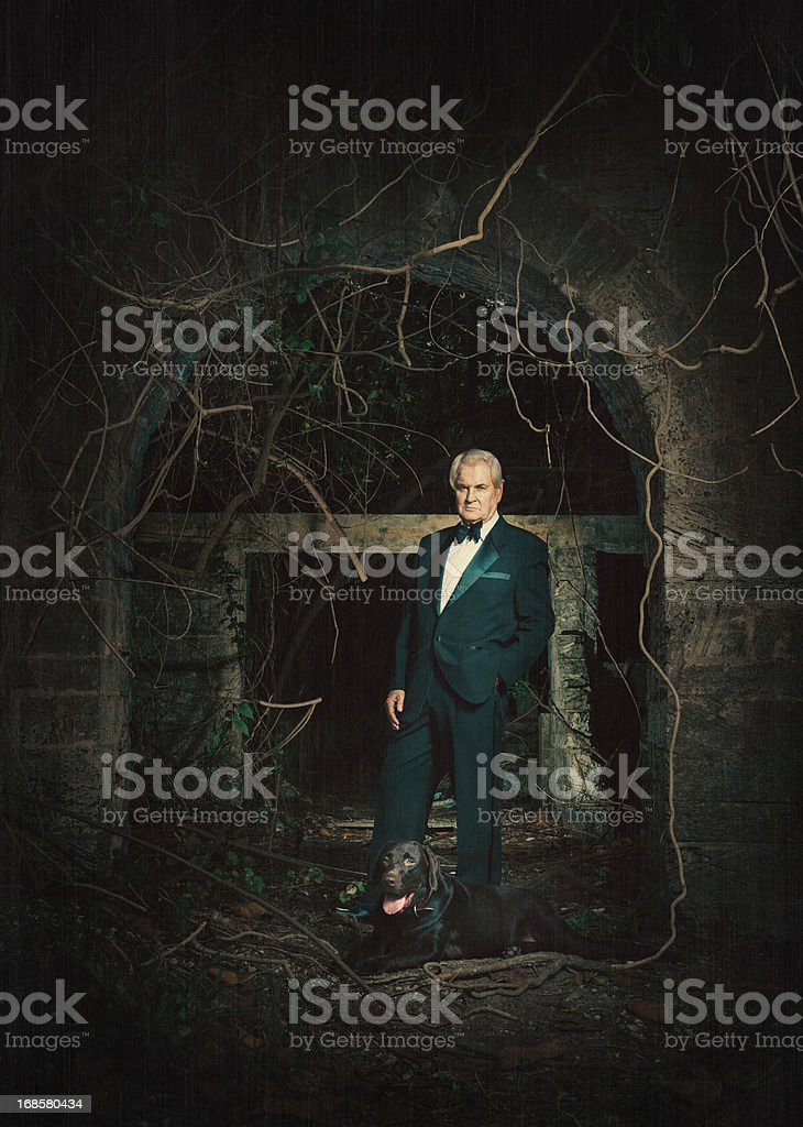the tycoon royalty-free stock photo