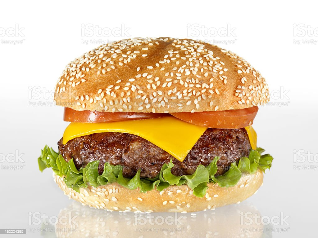 The Ultimate Burger stock photo