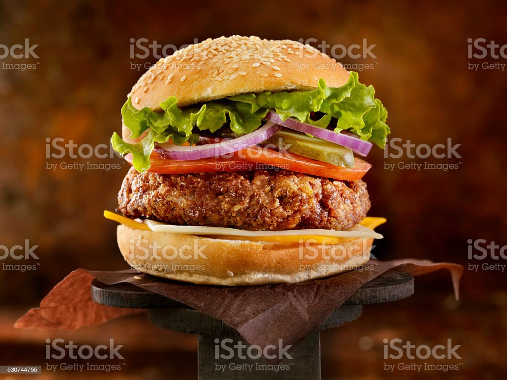 The Ultimate CheeseBurger stock photo
