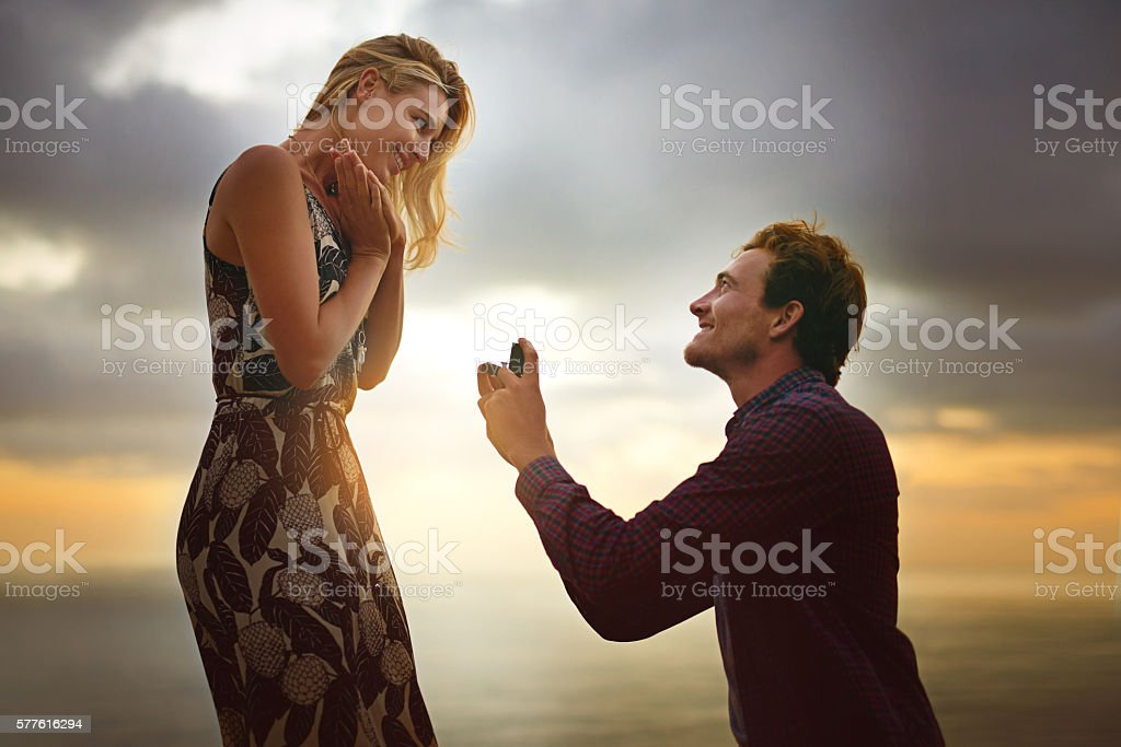 The ultimate expression of love stock photo