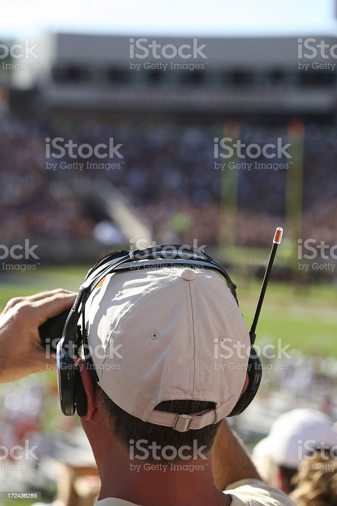 The Ultimate Sports Football Fan stock photo