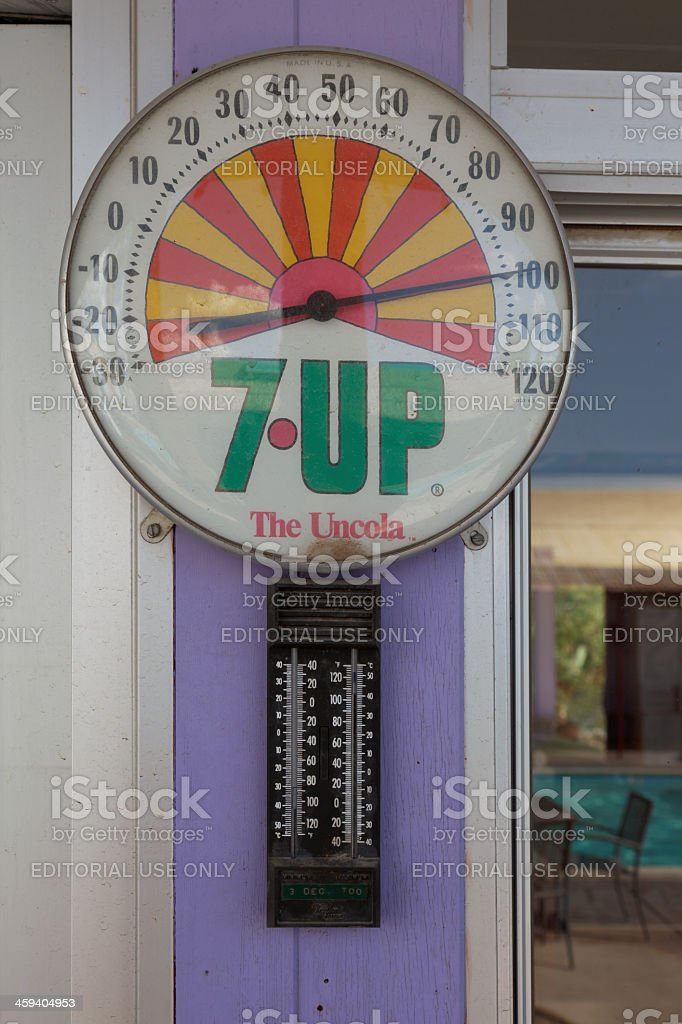 7 UP - the Uncola stock photo