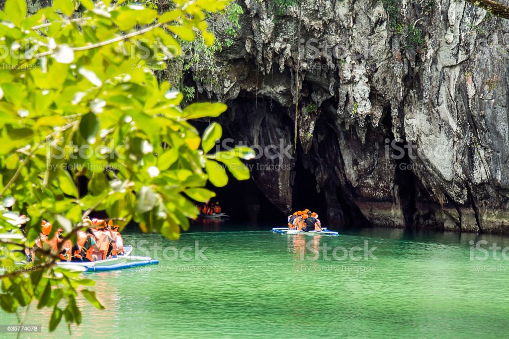 The Underground River of Puerto Princesa stock photo
